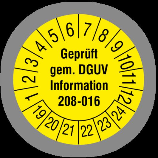 Prüfung von Leitern und Tritten nach DGUV Vorschrift 208-016