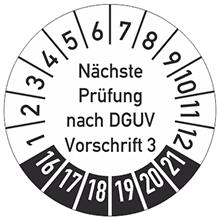 DGUV Vorschrift 3